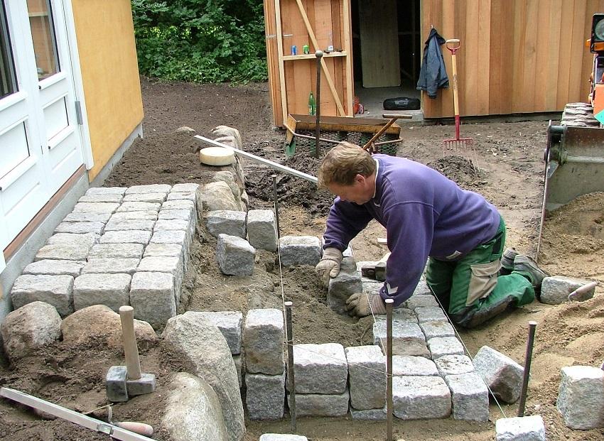 Stentrappe - i granit