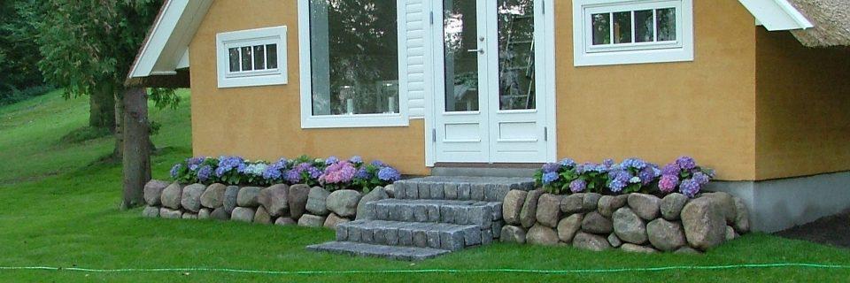 Stensætning og stentrappe
